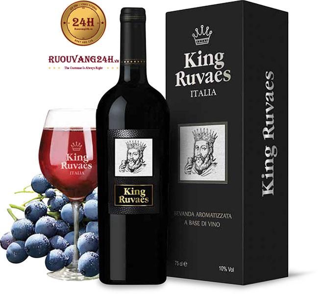 Rượu vang King Ruvaes Ngọt Mác Trắng