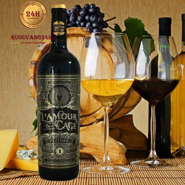 Rượu vang L'Amour en Cage Pezenas