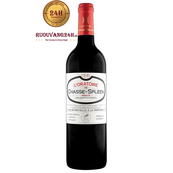 Rượu vang L'Oratoire De Chasse Spleen