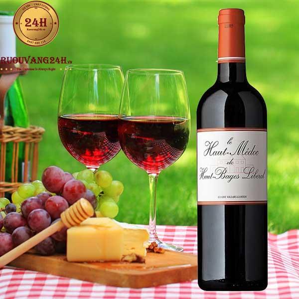 Rượu Vang Haut Medoc De Haut Bages Liberal