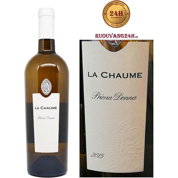 Rượu Vang La Chaume Prima Donna
