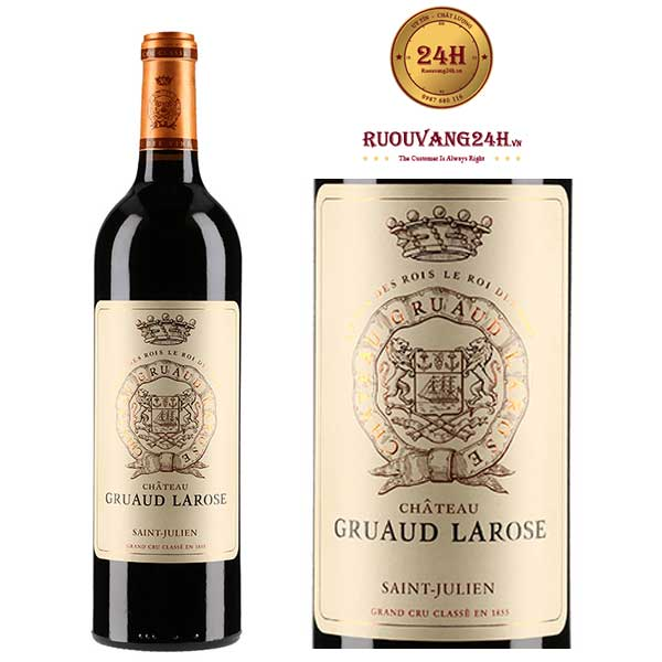 Rượu Vang Chateau Gruaud Larose Saint Julien