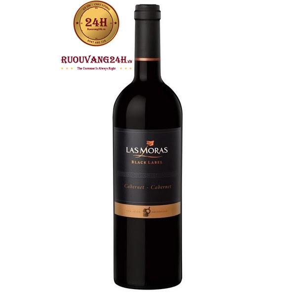 Rượu vang Las Moras Black Label Cabernet Sauvigon – Cabernet Franc