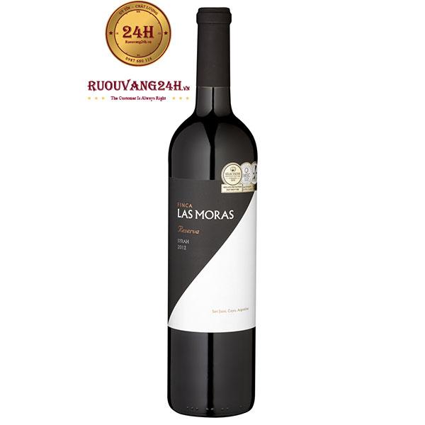 Rượu vang Las Moras Reserva Syrah