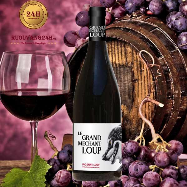 Rượu vang Le Grand Mechant Loup Vignobles Vellas Languedoc
