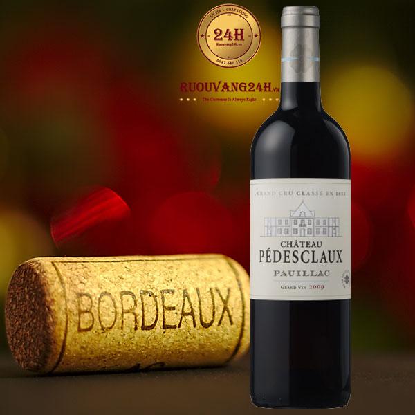 Rượu Vang Chateau Pedes Claux Pauillacdesclaux