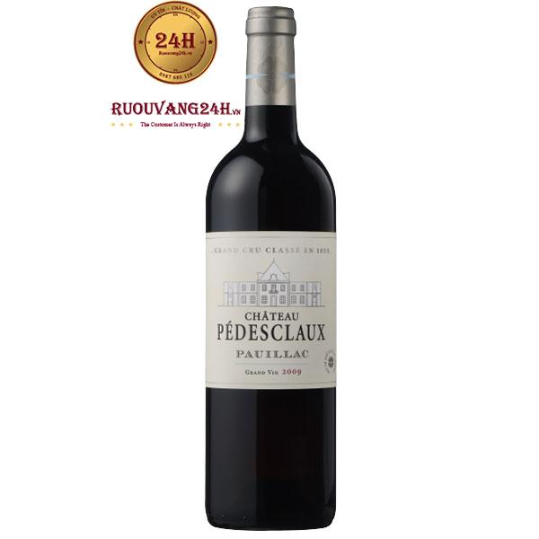 Rượu Vang Chateau Pedes Claux Pauillac