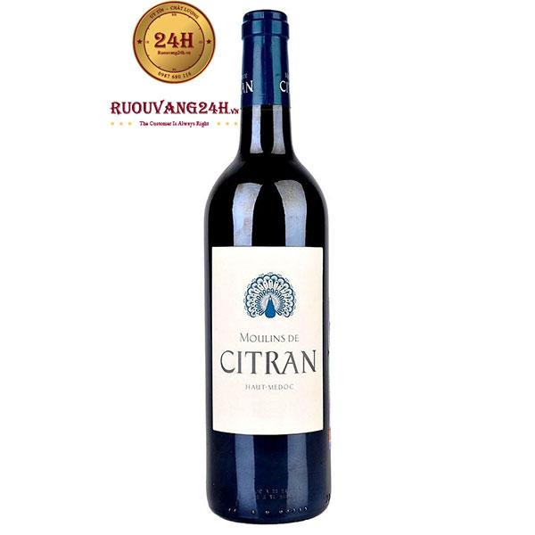 Rượu Vang Moulins De CITRAN Haut Medoc