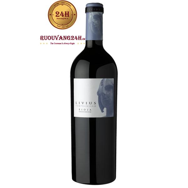 Rượu vang Livius Tempranillo D.O.Rioja