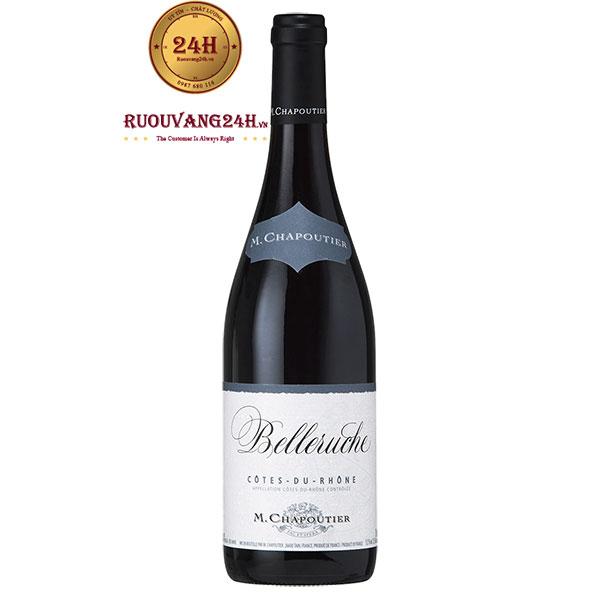 Rượu Vang M.Chapoutier Belleruche Red Cote Du Rhone