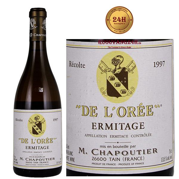 Rượu vang M.Chapoutier Cuvee de L'Oree Ermitage