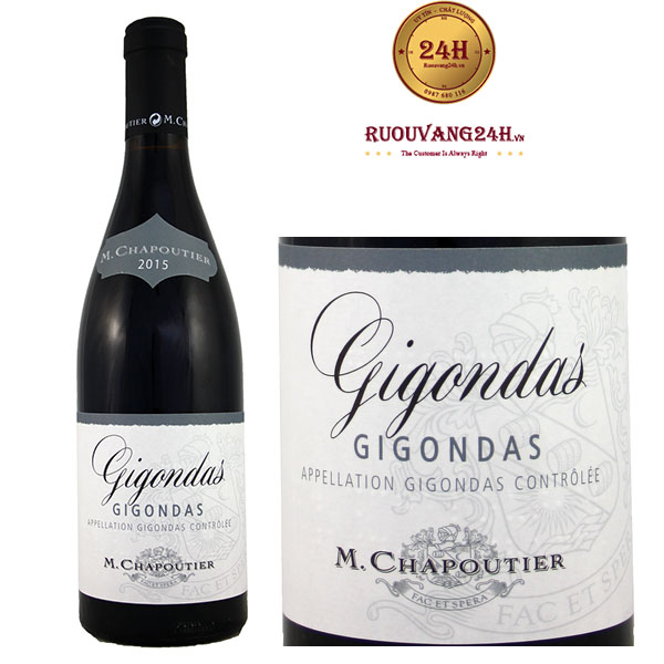 Rượu vang M.Chapoutier Gigondas