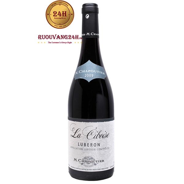 Rượu vang M.Chapoutier La Ciboise Luberon