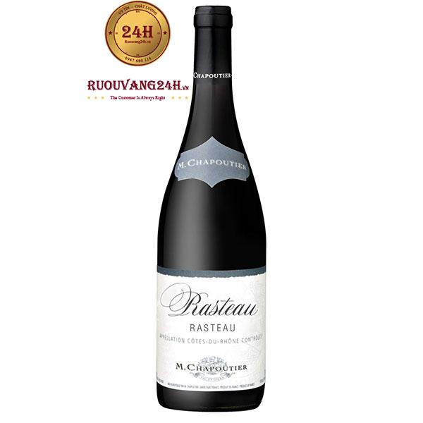 Rượu vang M.Chapoutier Rasteau Cotes du Rhone Villages