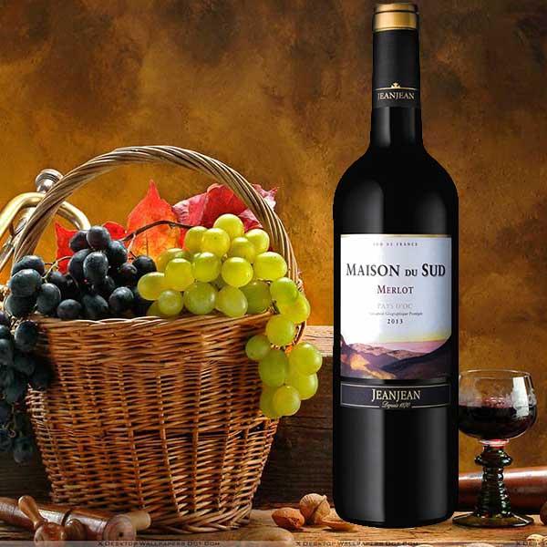 Rượu vang Maison du Sud Merlot