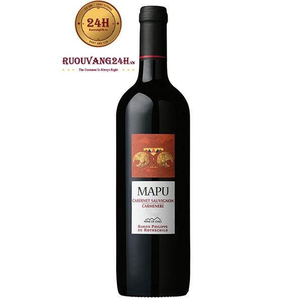 Rượu vang Mapu Cabernet Sauvignon – Carmenere