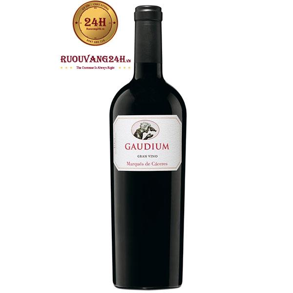 Rượu vang Marques de Caceres Gaudium Rioja DOC