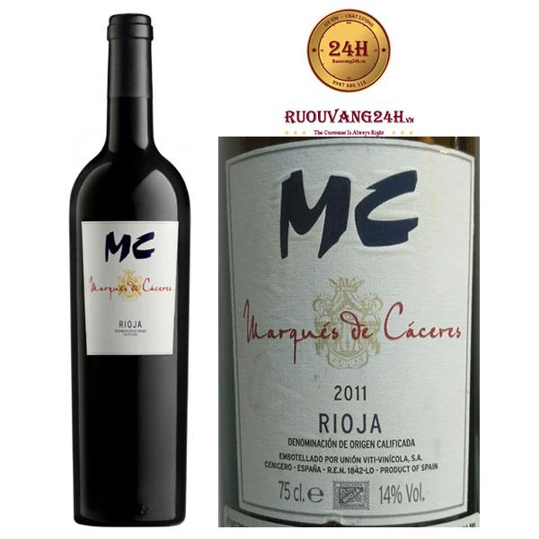 Rượu vang Marques de Caceres MC Rioja DOC