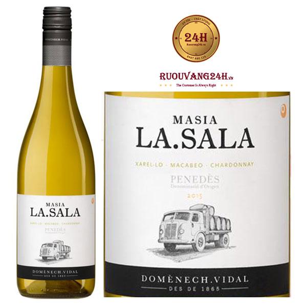 Rượu vang Masia La Sala Blanco