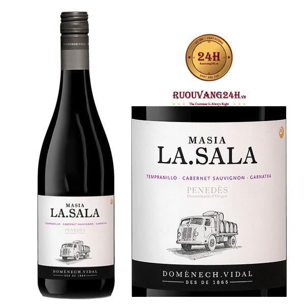 Rượu vang Masia La Sala Tinto