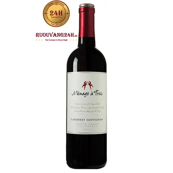 Rượu vang Menage A Trois Cabernet Sauvignon