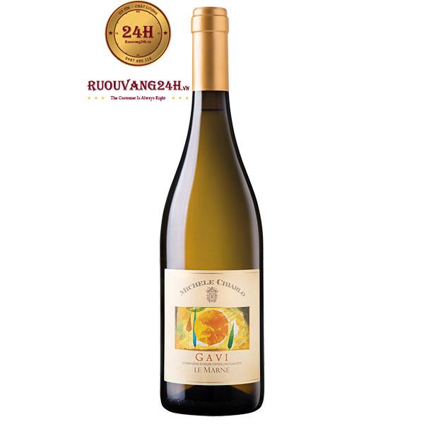 Rượu Vang Michele Chiarlo GAVI Le Marne