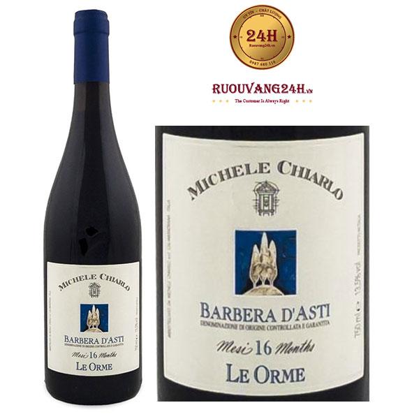 Rượu vang Michele Chiarlo Le Orme Barbera