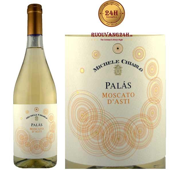 Rượu vang Michele Chiarlo Palàs Moscato d'Asti Moscato