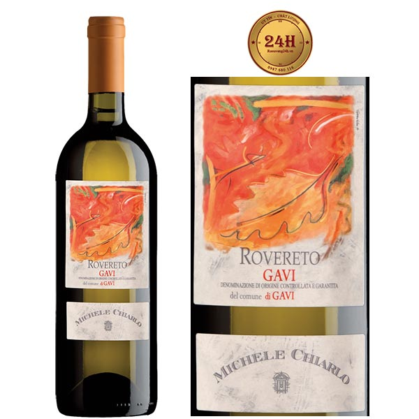 Rượu vang Michele Chiarlo Rovereto Cortese