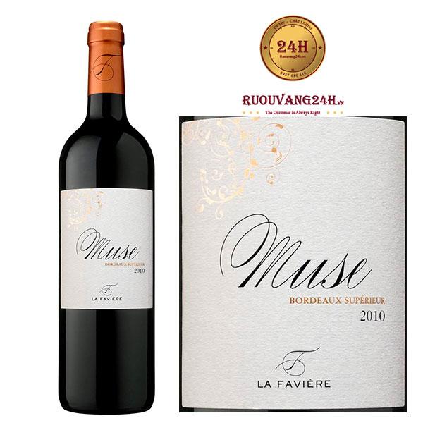 Rượu vang Muse Bordeaux Superieur La Faviere