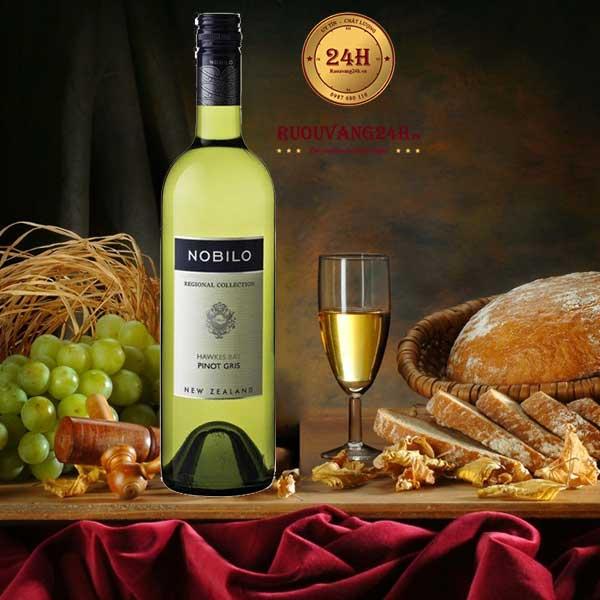 Rượu vang Nobilo Regional collection Pinot Gris