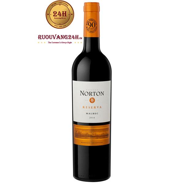 Rượu vang Norton Reserva Malbec