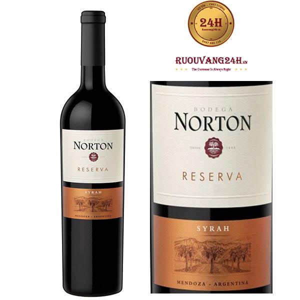 Rượu vang Norton Reserva Syrah