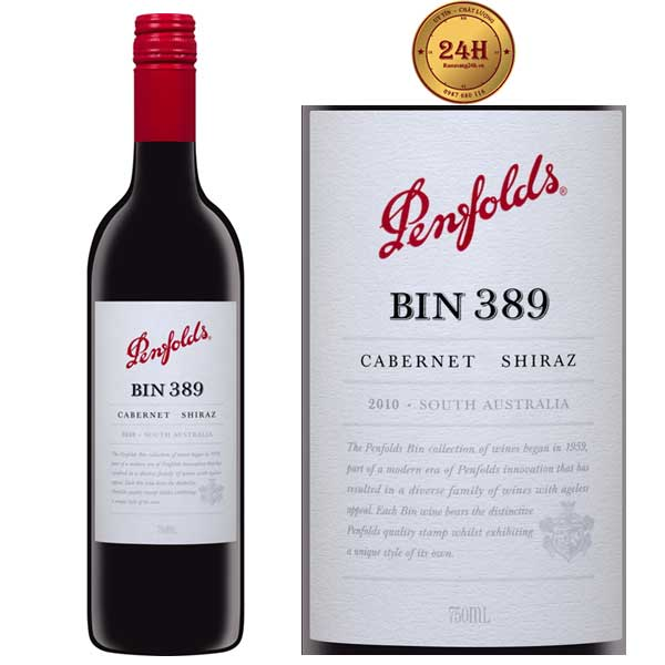 Rượu vang Penfolds Bin 389 Cabernet Shiraz
