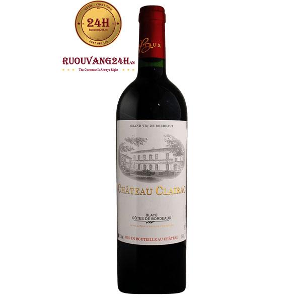 Rượu Vang Chateau Clairac