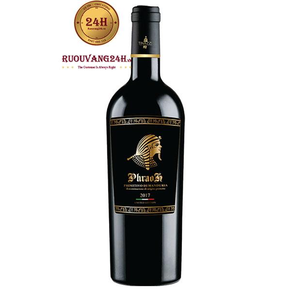 Rượu Vang PharaoH Primitivo Di Manduria Tinazzi
