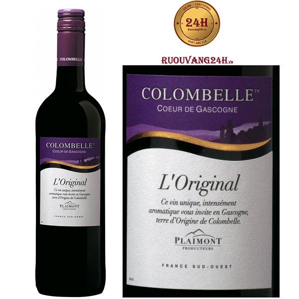 Rượu Vang Plaimont Colombelle L'Original
