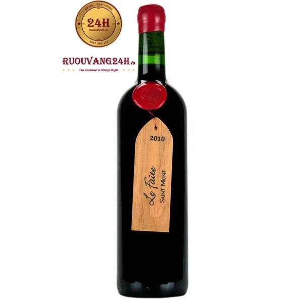 """Rượu vang Plaimont """"Le Faite"""" Saint Mont"""