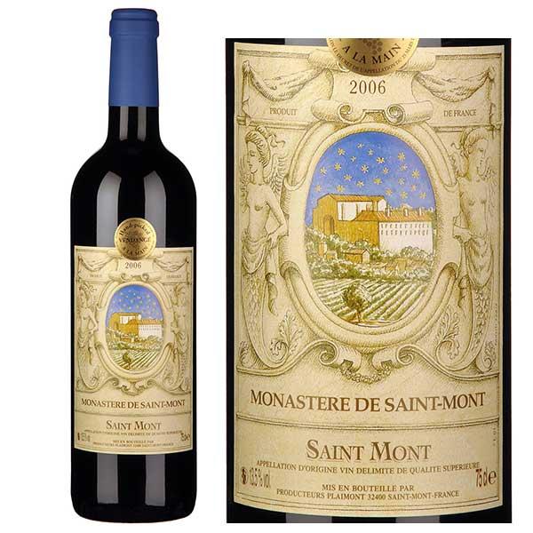 Rượu vang Plaimont Monastere De Saint Mont