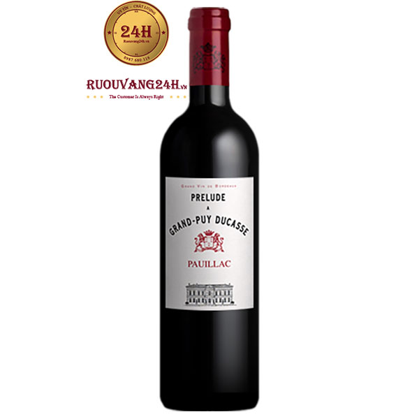 Rượu Vang Prelude De Grand Puy Ducasse Pauillac