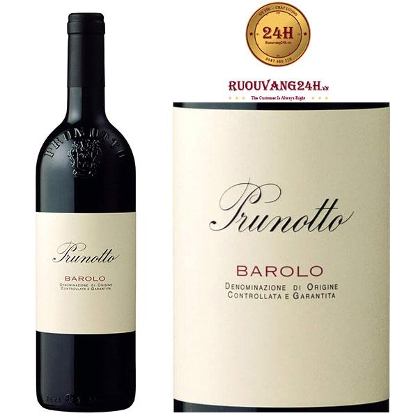 Rượu vang Prunotto Barolo DOCG