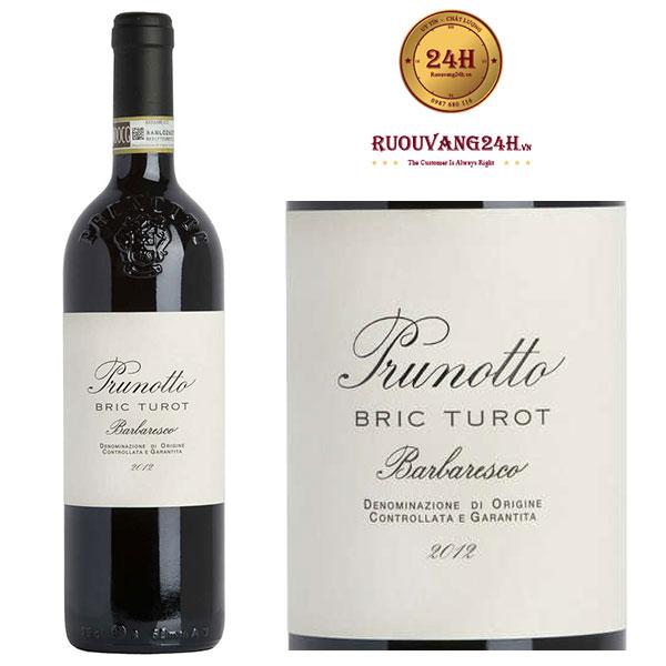 Rượu vang Prunotto Bric Turot Barbaresco DOCG