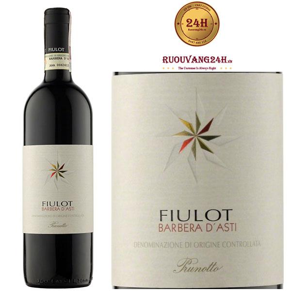Rượu vang Prunotto Fiulot Barbera D'Asti DOCG