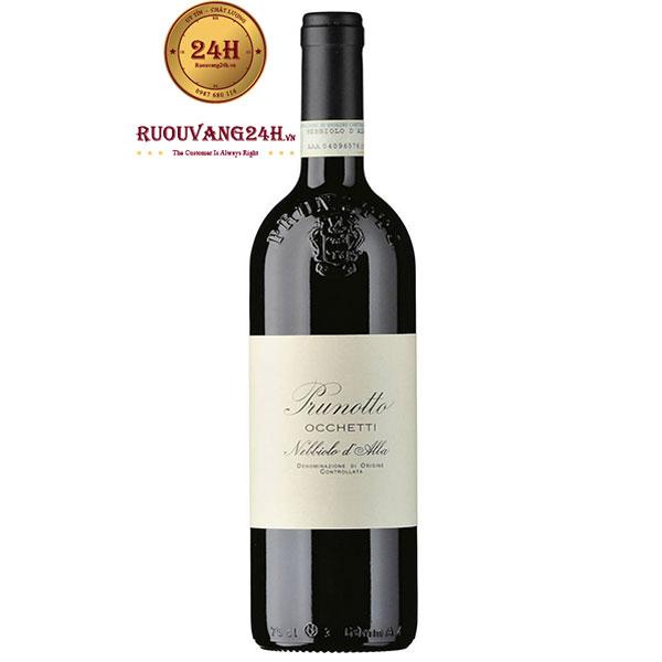 "Rượu Vang Prunotto ""Occhetti"" Nebbiolo d'Alba DOCG"