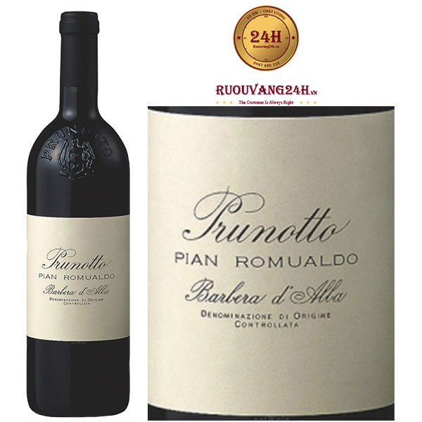 Rượu vang Prunotto Pian Romualdo Barbera d'Alba DOC