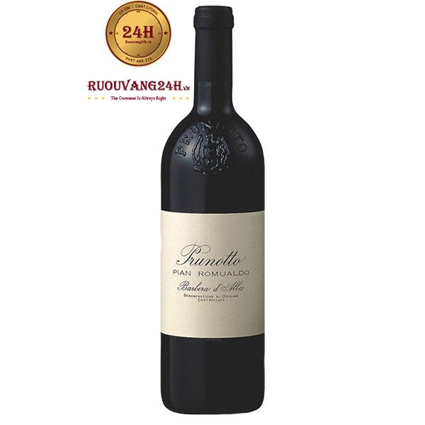 "Rượu Vang Prunotto ""Pian Romualdo"" Barbera d'Alba DOC"