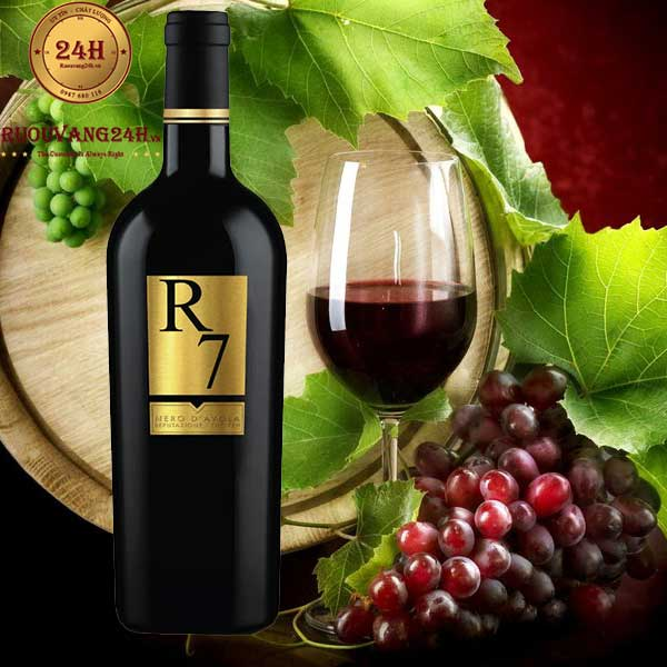 Rượu Vang R7 Nero D'avola