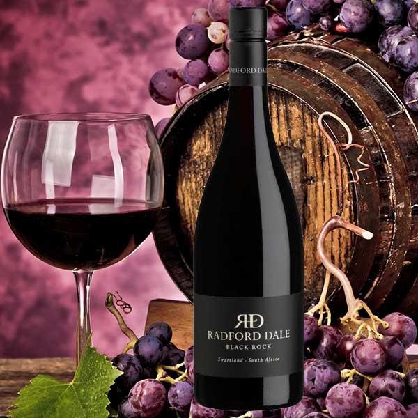 """Rượu vang Radford Dale """"Black Rock"""" Perdeberg – Swartland"""
