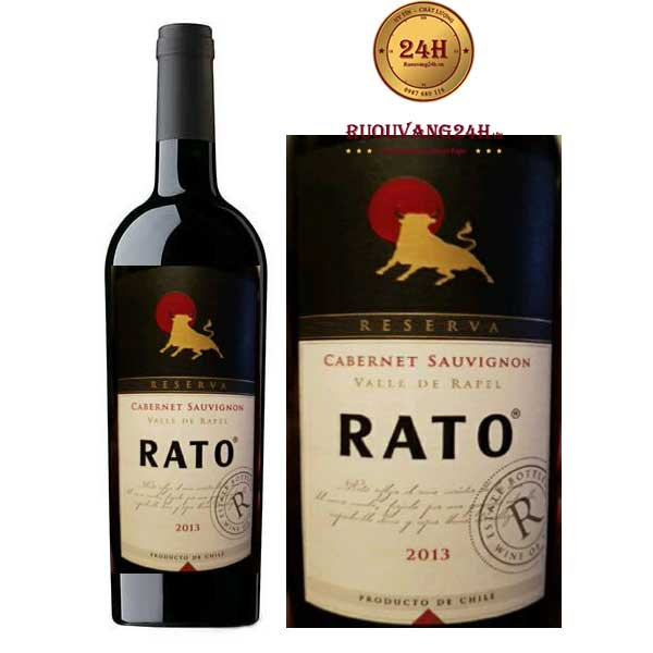 Rượu vang Rato Reserva Cabernet Sauvignon
