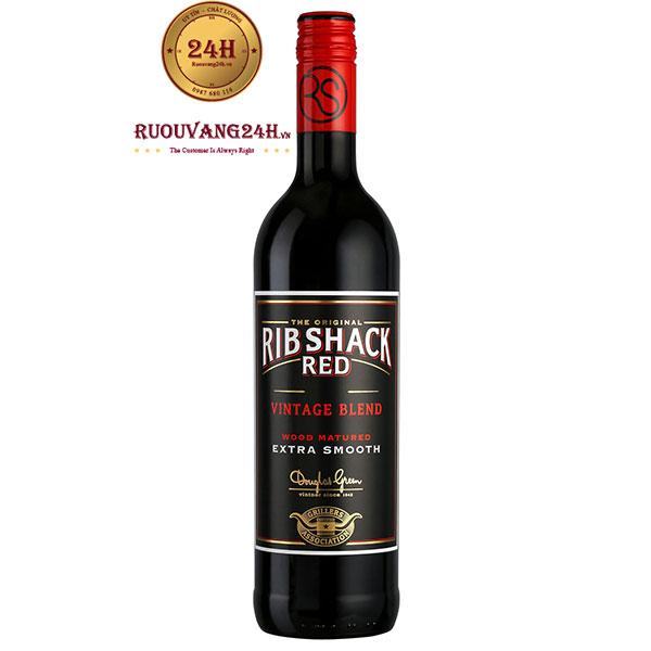 Rượu Vang Ribshack Red